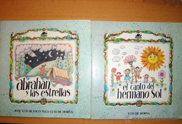 2 CUENTOS NUEVOS DE MIÑÓN 1985 DE HORNA-BLANCO VEGA-DE ASÍS COLECCIÓN EL NÚMERO DE LAS ESTRELLAS (Libros de Segunda Mano - Literatura Infantil y Juvenil - Cuentos)