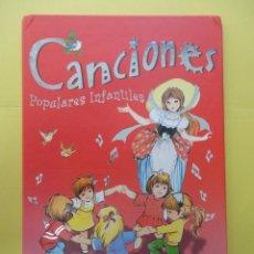 Libros de segunda mano: CANCIONES POPULARES INFANTILES. SUSAETA. Lote 45292446