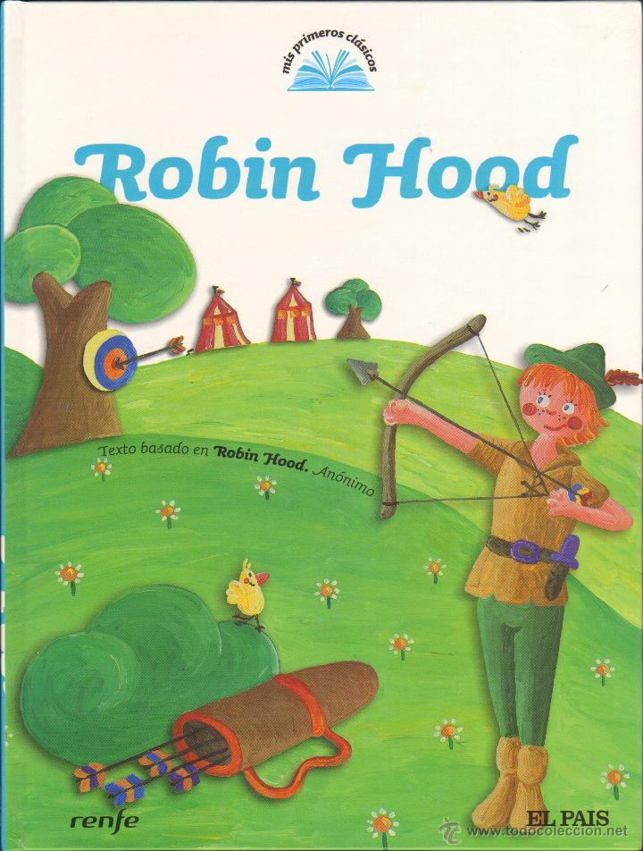 ROBIN HOOD - EL PAIS / RENFE (Libros de Segunda Mano - Literatura Infantil y Juvenil - Cuentos)