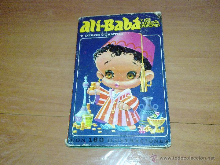 ALI-BABA Y LOS CUARENTA LADRONES EDITORIAL BURGUERA 1973 (Libros de Segunda Mano - Literatura Infantil y Juvenil - Cuentos)