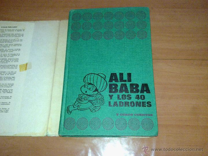 Libros de segunda mano: ALI-BABA Y LOS CUARENTA LADRONES EDITORIAL BURGUERA 1973 - Foto 2 - 45332517