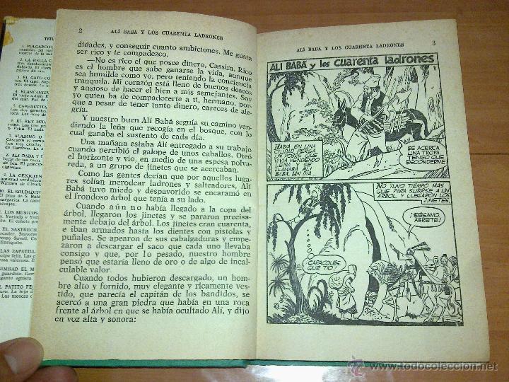 Libros de segunda mano: ALI-BABA Y LOS CUARENTA LADRONES EDITORIAL BURGUERA 1973 - Foto 4 - 45332517