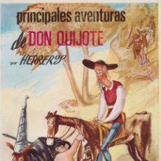 Libros de segunda mano: PRINCIPALES AVENTURAS DE D.QUIJOTEHERREROSNACIONAL1964HERREROS. Lote 45446666
