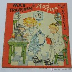 Libros de segunda mano: MARI PEPA EN EN PAIS DE LA NIEBLA, ILUSTRACIONES DE MARIA CLARET, TEXTO DE EMILIA COTARELO, 16 PAG. . Lote 45510476
