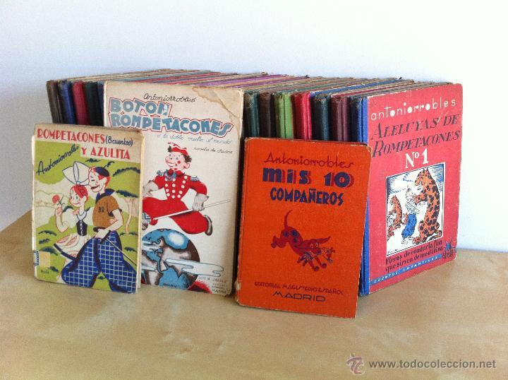 ALELUYAS DE ROMPETACONES. 1939. INCLUYE CUENTO INÉDITO, CORRECIONES Y DEDICATORIA DE ANTONIORROBLES. (Libros de Segunda Mano - Literatura Infantil y Juvenil - Cuentos)