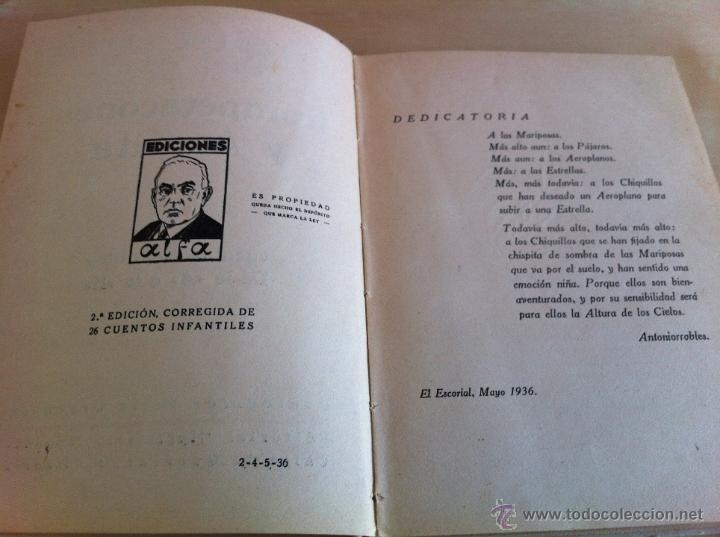 Libros de segunda mano: ALELUYAS DE ROMPETACONES. 1939. INCLUYE CUENTO INÉDITO, CORRECIONES Y DEDICATORIA DE ANTONIORROBLES. - Foto 295 - 42799560