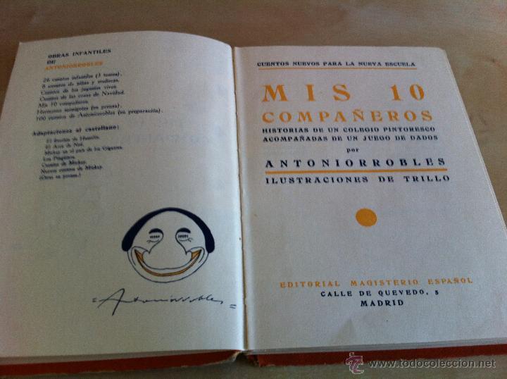 Libros de segunda mano: ALELUYAS DE ROMPETACONES. 1939. INCLUYE CUENTO INÉDITO, CORRECIONES Y DEDICATORIA DE ANTONIORROBLES. - Foto 318 - 42799560
