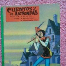 Libros de segunda mano: CUENTOS Y LEYENDAS 5 EDITORIAL VASCO AMERICANA 1975 CONTIENE 3 CUENTOS. Lote 45613074
