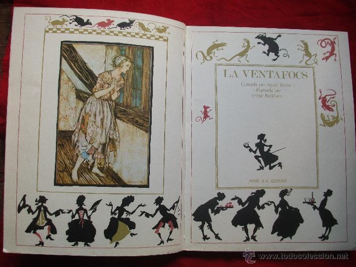 Libros de segunda mano: CUENTO LA VENTAFOCS - ILUSTRACIONES ARTHUR RACKHAM 1ª EDICION 1975 - Foto 6 - 45666846