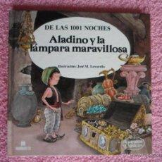 Libros de segunda mano: ALADINO Y LA LÁMPARA MARAVILLOSA MULTILIBRO 1989 CUENTOS CLÁSICOS 26 JOSÉ MARÍA LAVARELLO. Lote 45886716