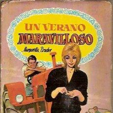 Libri di seconda mano: COLECCION DALIA UN VERANO MARAVILLOSO MARGARETTA BRUCHER EDITORIAL BRUGUERA 1ª EDICION 1960. Lote 45991064