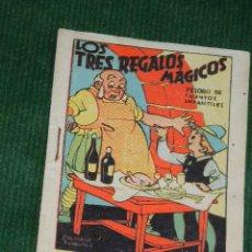 Libros de segunda mano: LOS TRES REGALOS MAGICOS - TESORO DE CUENTOS INFANTILES - DIB.SALVADOR MESTRES. Lote 46219655
