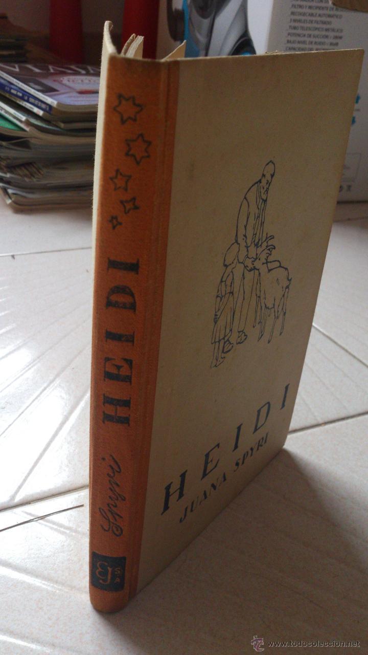 HEIDI (Libros de Segunda Mano - Literatura Infantil y Juvenil - Cuentos)