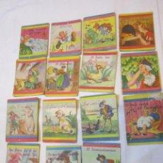Libros de segunda mano: LOTE DE 15 MINICUENTOS DE LA EDITORIAL FHER. UNO SIN NÚMERO VISIBLE.. Lote 46466739