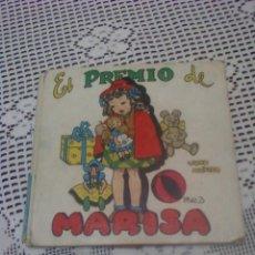 Libros de segunda mano: EL PREMIO DE MARISA . LIBRO MUÑECO. Lote 46561874