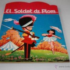 Libros de segunda mano: TROQUELADO EL SOLDAT DE PLOM - AÑO 1969 - SERIE PRIMAVERA - EN CATALÁN -EDITORIAL MIGUEL SALVATELLA. Lote 46629417