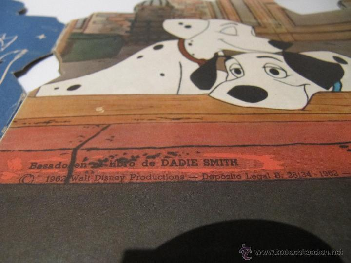 Libros de segunda mano: CUENTO TROQUELADO 101 DALMATAS, ED. EDIGRAF VILCAR 1962 - Foto 4 - 46639748