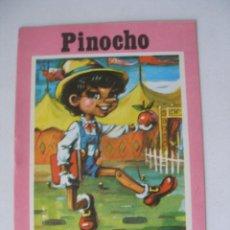 Libros de segunda mano: PINOCHO COLECCIÓN TOPACIO Nº 5 BOGA AÑO 1975 , SIN USO. Lote 167261005