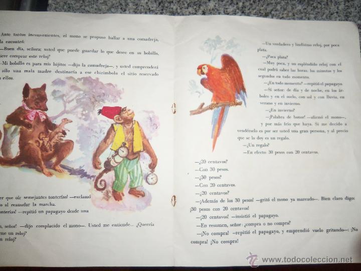 Libros de segunda mano: EL MONO RELOJERO, por CONSTANCIO VIGIL - Colección MARIPOSA - Edit. ATLANTIDA - Argentina - 1963 - Foto 3 - 46746075
