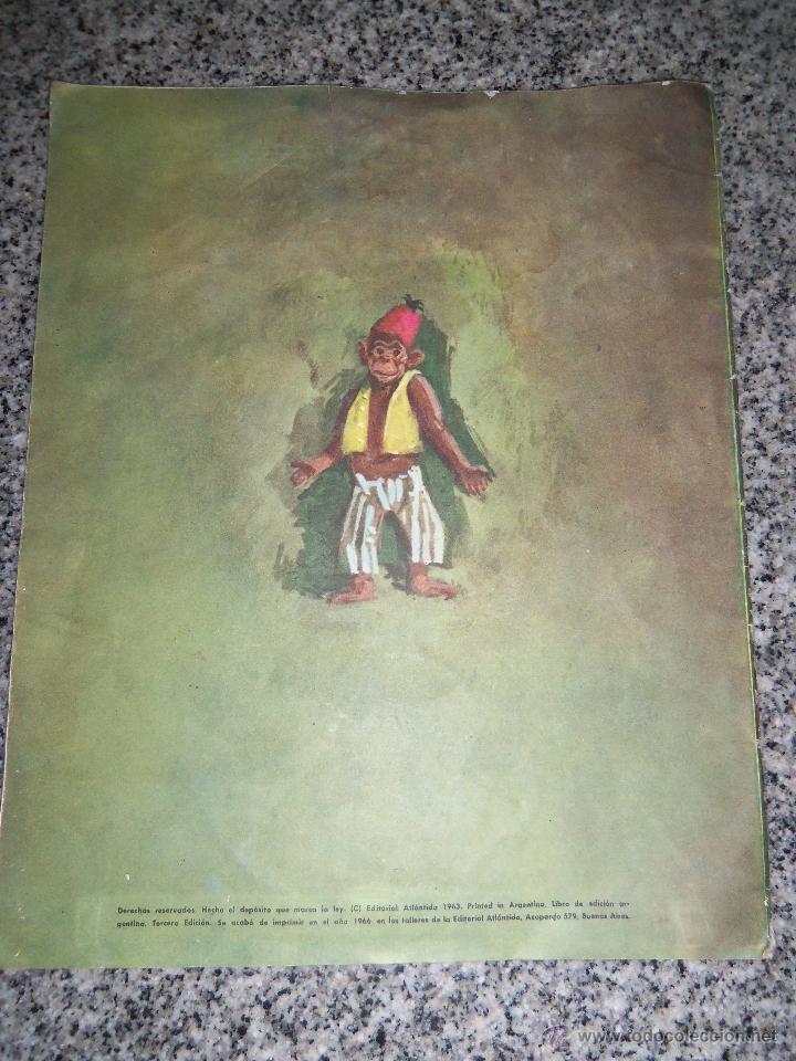 Libros de segunda mano: EL MONO RELOJERO, por CONSTANCIO VIGIL - Colección MARIPOSA - Edit. ATLANTIDA - Argentina - 1963 - Foto 4 - 46746075