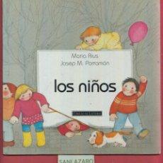 Libros de segunda mano: LOS NIÑOS-J.M.PARRAMON-IL.MARIA RIUS-CIRCULO DE LECTORES- PARRAMON EDICIONES. LJ177. Lote 46970200