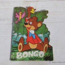 Libros de segunda mano: ANTIGUO CUENTO TROQUELADO ( BONGO ) DE WALT DISNEY. Lote 47065003