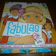 Libros de segunda mano - FÁBULAS - Tomo 3 - Con ilustraciones de MARÍA PASCUAL - Editorial TORAY - 6ª Edición - Madrid, 1981 - 47430568