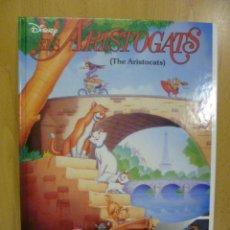 Libros de segunda mano: ELS ARISTOGATS. LOS ARISTOGATOS. DISNEY. EDICIÓN BILINGUE CATALÁN/INGLES. TAPA DURA 1996. Lote 47496263