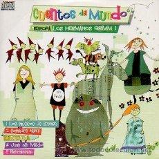Libros de segunda mano: CD CUENTOS DEL MUNDO. EUROPA. LOS HERMANOS GRIMM 1. LOS MÚSICOS DE BREMEN, COMADRE NIEVE, RAPUNZEL... Lote 47590517