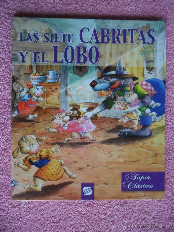 las siete cabritas y el lobo susaeta 1999 super  Comprar Libros