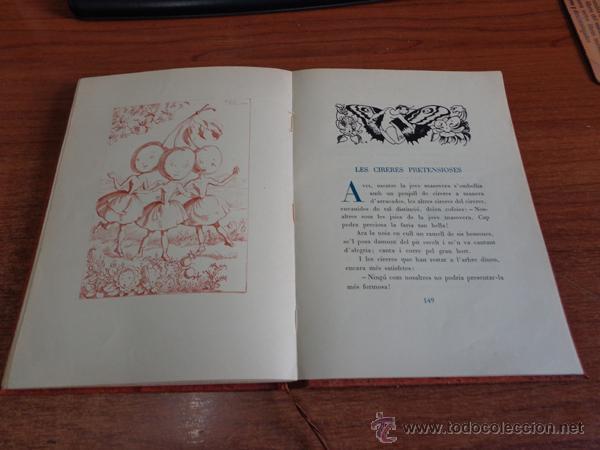 Libros de segunda mano: CONTES MERAVELLOSOS PER LOLA ANGLADA. BARCELONA, 1947. EDICIÓ DE 400 EXEMPLARS. - Foto 2 - 47800751