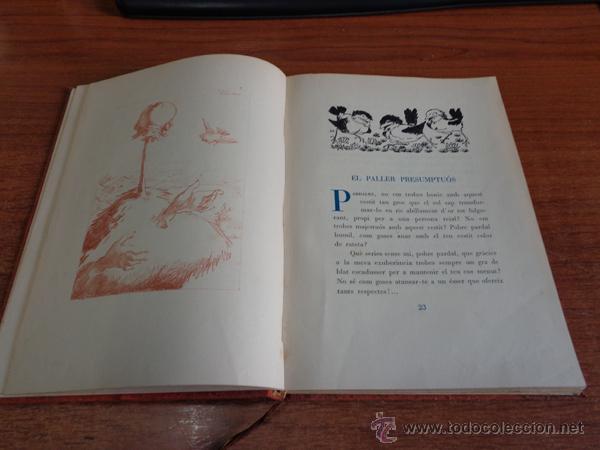 Libros de segunda mano: CONTES MERAVELLOSOS PER LOLA ANGLADA. BARCELONA, 1947. EDICIÓ DE 400 EXEMPLARS. - Foto 4 - 47800751