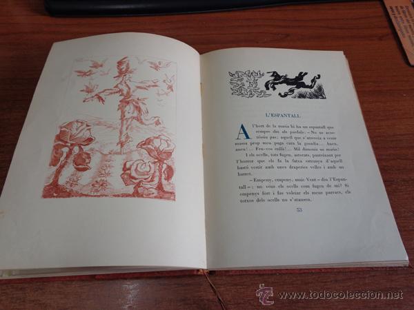 Libros de segunda mano: CONTES MERAVELLOSOS PER LOLA ANGLADA. BARCELONA, 1947. EDICIÓ DE 400 EXEMPLARS. - Foto 5 - 47800751