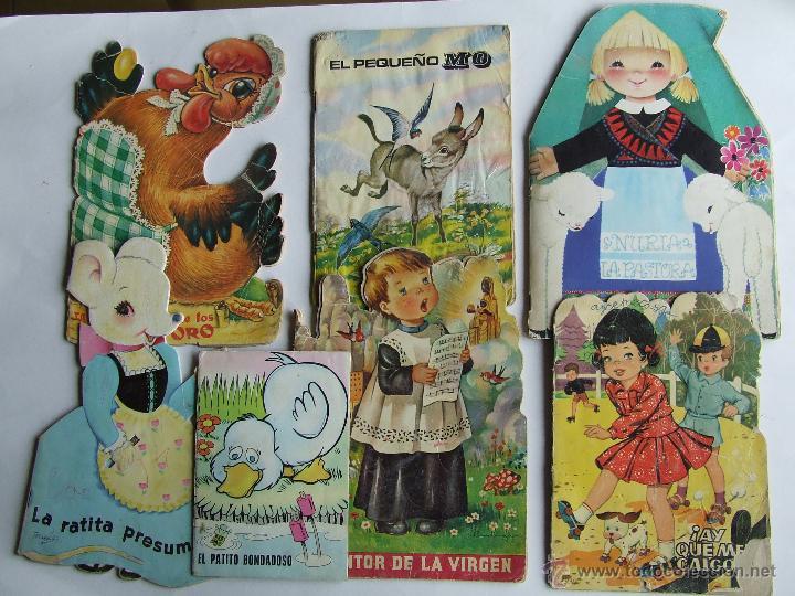 libros infantiles de los 70