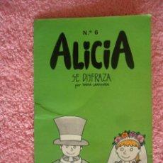 Libros de segunda mano: ALICIA SE DISFRAZA EDICIONES BAUSÁN 1980 EL MUNDO DE ALICIA 6 TARIA JARVINEN. Lote 47982250