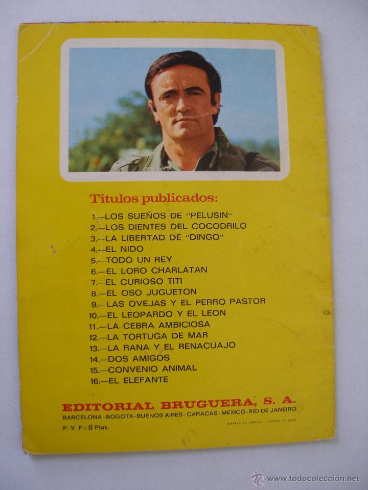 Libros de segunda mano: Cuentos Infantiles Felix el Amigo de los Animales Nº 2 , Bruguera 1970 - Foto 2 - 48217892