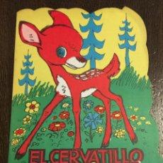 Libros de segunda mano: EL CERVATILLO PERDIDO. CUENTO TROQUELADO. ILUSTRA SALVADOR MESTRES. EDICIONES REDECILLA. 1965. Lote 48299547