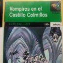 Libros de segunda mano: VAMPIROS EN EL CASTILLO COLMILLOS - ERICH BALLINGER (EDEBÉ). Lote 48367467