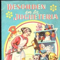 Libros de segunda mano: CUENTO DESORDEN EN LA JUGUETERIA. SERIE DELFIN Nº 3. EDITORIAL ROMA, SEVILLA. 1960. Lote 153408361