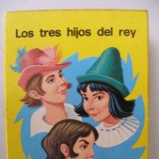 Libros de segunda mano: LOS TRES HIJOS DEL REY , COLECCIÓN MINI CUENTOS CÉLEBRES , EDICIONES SUSAETA AÑO 1975 , SIN USO. Lote 48688551
