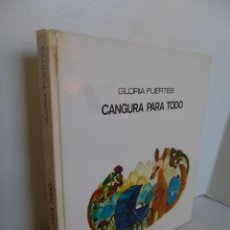 Libros de segunda mano: CANGURA PARA TODO ( GLORIA FUERTES) COL GRANDES AUTORES 24 LUMEN 1975. Lote 48837002