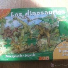Libros de segunda mano: LOS DINOSAURIOS (MI LIBRO PUZZLE) (NGV). Lote 50596666