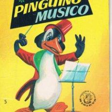Libros de segunda mano: CUENTO DON PINGUINO MÚSICO PEQUEÑOS LIBROS MINI EVA Nº 5 ANTIGUO 1965. Lote 48979649