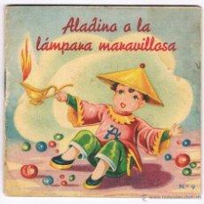 Libros de segunda mano: CUENTO ALADINO Y LA LAMPARA MARAVILLOSA CUENTOS COLECCIÓN F Nº 9 EDITORIAL FHER ANTIGUO. Lote 48979733