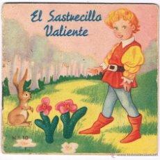 Libros de segunda mano: CUENTO EL SASTRECILLO VALIENTE CUENTOS COLECCIÓN F Nº 10 EDITORIAL FHER ANTIGUO. Lote 48979765