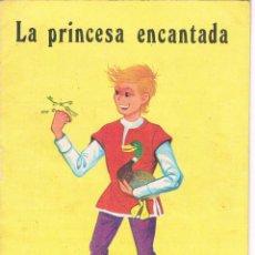 Libros de segunda mano: CUENTO LA PRINCESA ENCANTADA CUENTITOS LUSA Nº 40 1970 EDITORIAL CANTABRICA. Lote 48979848