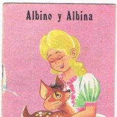Libros de segunda mano: CUENTO ALBINO Y ALBINA CUENTITOS LUSA Nº 38 1970 EDITORIAL CANTABRICA. Lote 48979889