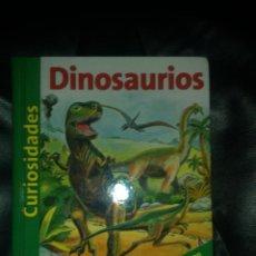 Libros de segunda mano: DINOSAURIOS, CURIOSIDADES (TAPA DURA, LIBRO CON VENTANAS). Lote 48988093