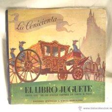 Libros de segunda mano: LIBRO JUGUETE LA CENICIENTA. EDITORIAL SIBILS, AÑOS 50. Lote 49009050