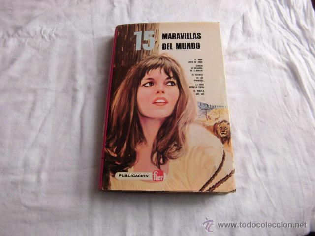 15 MARAVILLAS DEL MUNDO .GAUTIER LANGUEREAU.PUBLICACIONES FHER. 1975 (Libros de Segunda Mano - Literatura Infantil y Juvenil - Cuentos)